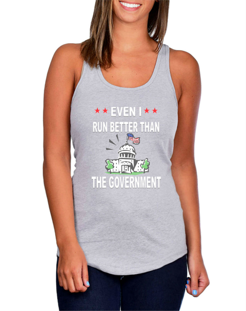 Funny Government Tank Top