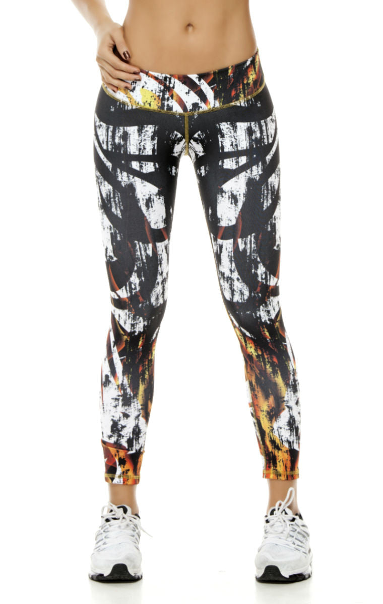 Zodiac - Leo Astrology leggings - Roni Taylor Fit  - 1