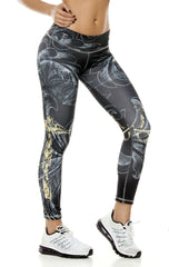 Zodiac - Libra Astrology leggings - Roni Taylor Fit  - 1