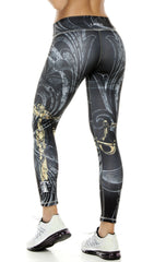 Zodiac - Libra Astrology leggings - Roni Taylor Fit  - 2