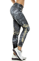 Zodiac - Libra Astrology leggings - Roni Taylor Fit  - 3
