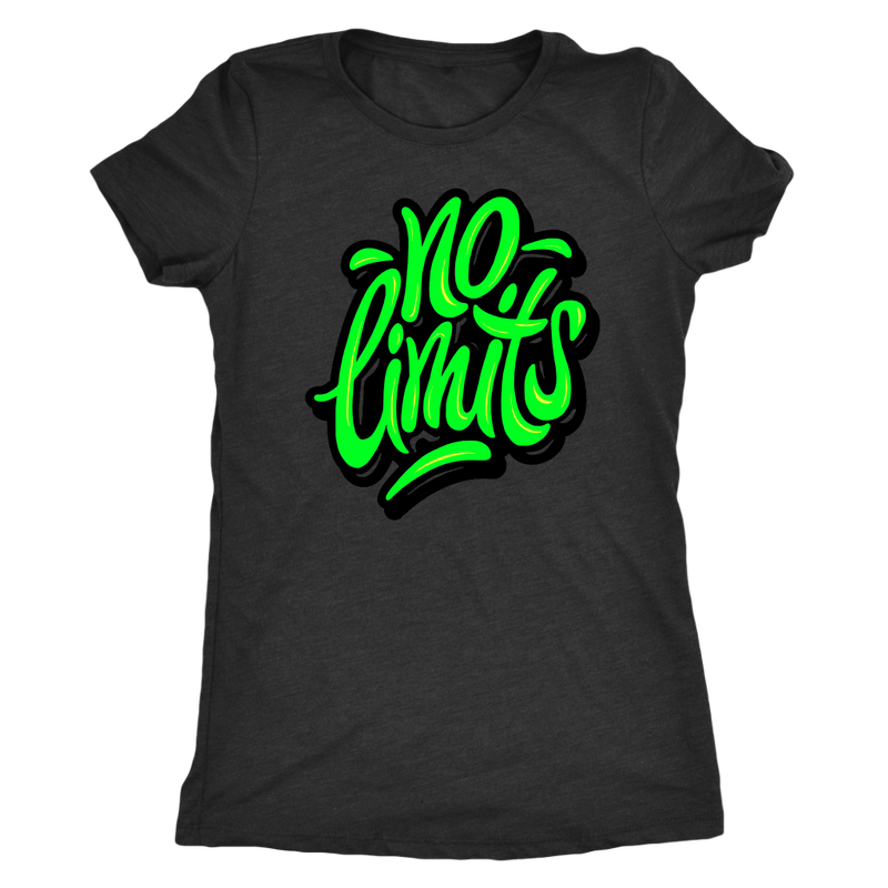 No Limits (Green) T-Shirt