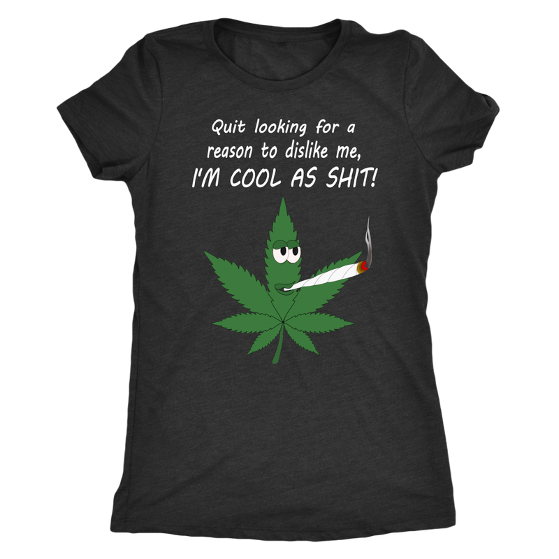 Cool As Shit Pot Leaf T-Shirt
