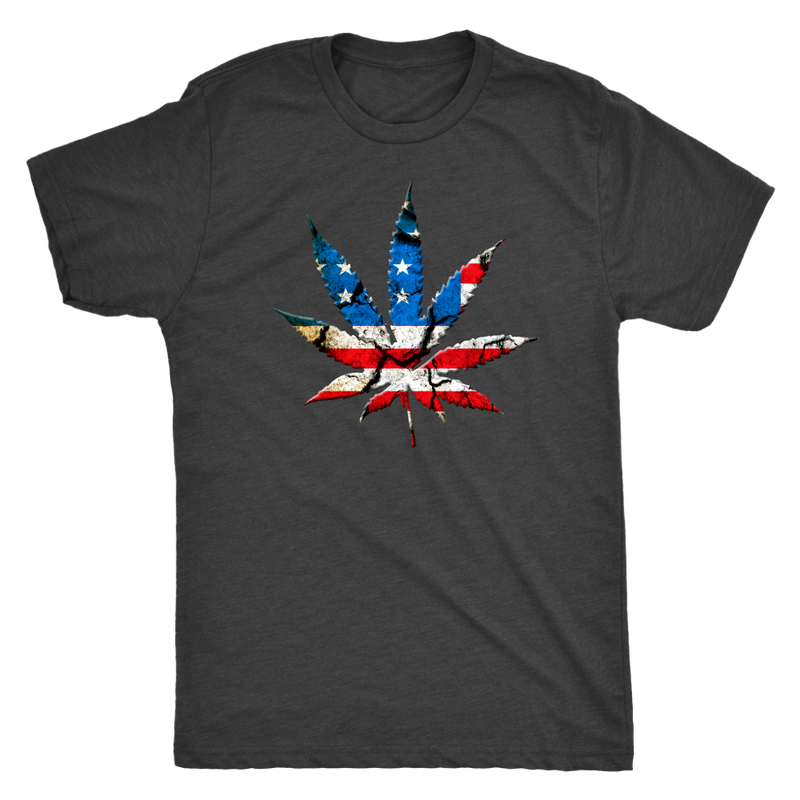 American Pot Leaf T-Shirt