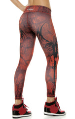 Zodiac - Scorpio Astrology leggings - Roni Taylor Fit  - 2