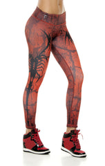Zodiac - Scorpio Astrology leggings - Roni Taylor Fit  - 3