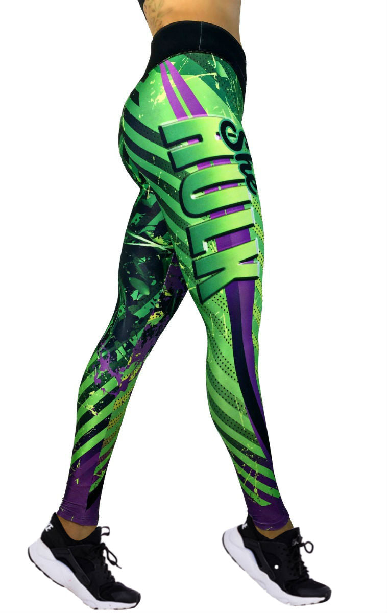 Exit 75 - She Hulk Green Leggings