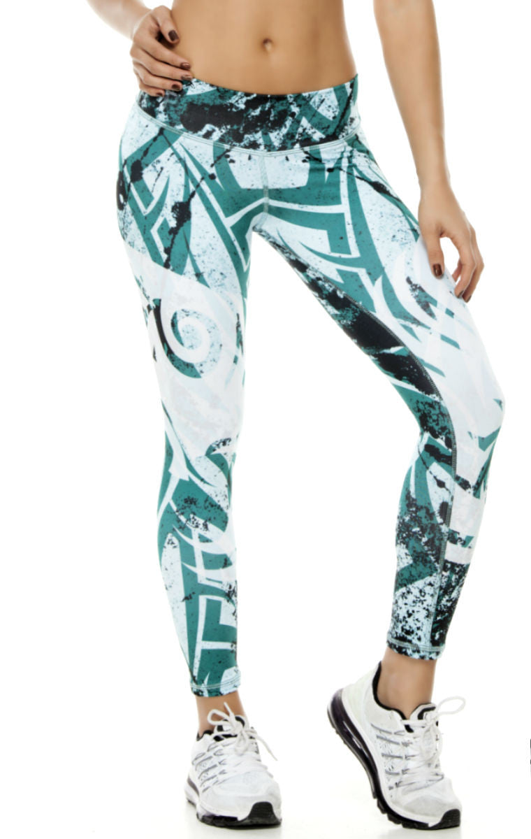 Zodiac - Taurus Astrology leggings - Roni Taylor Fit  - 1