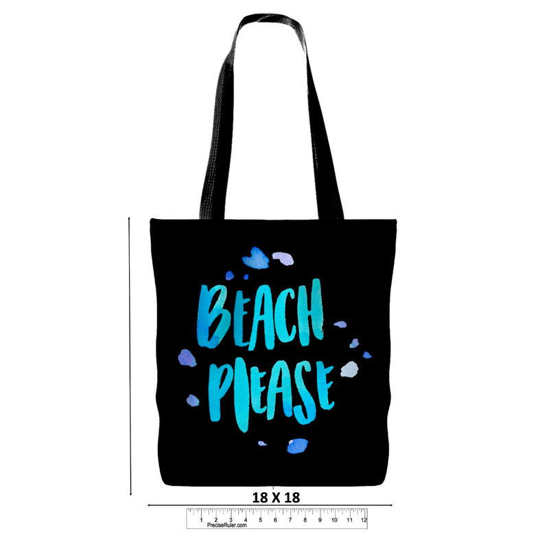 Resting Beach Face Tote - 3 Colors