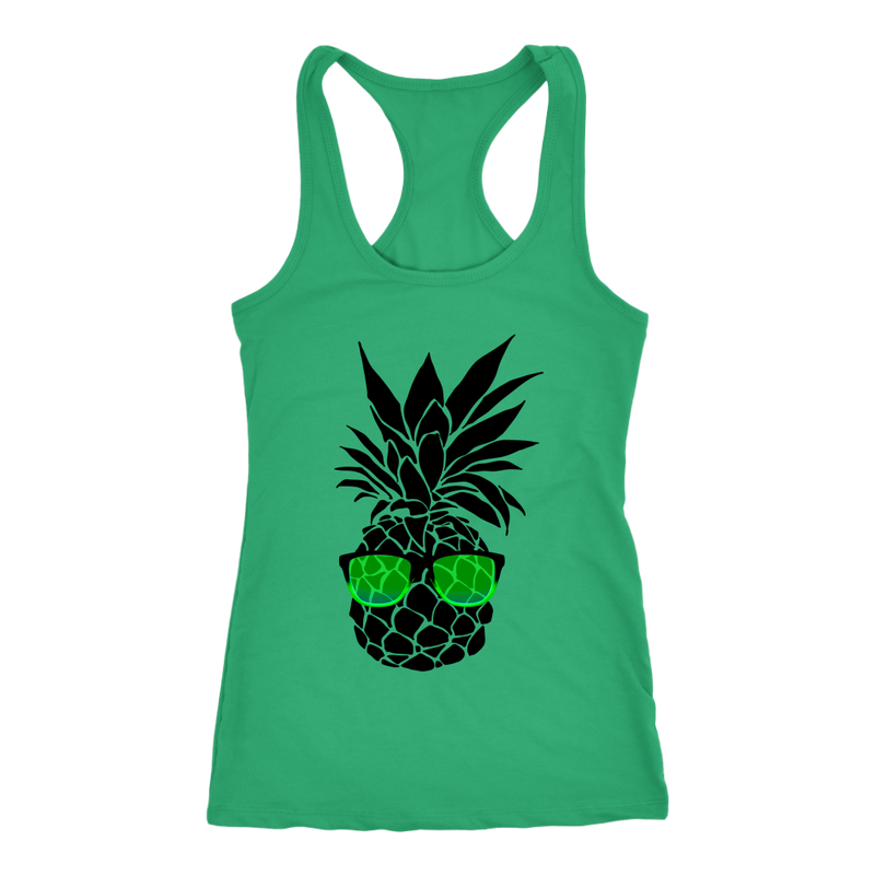 Pineapple with Sunglasses Tank Top