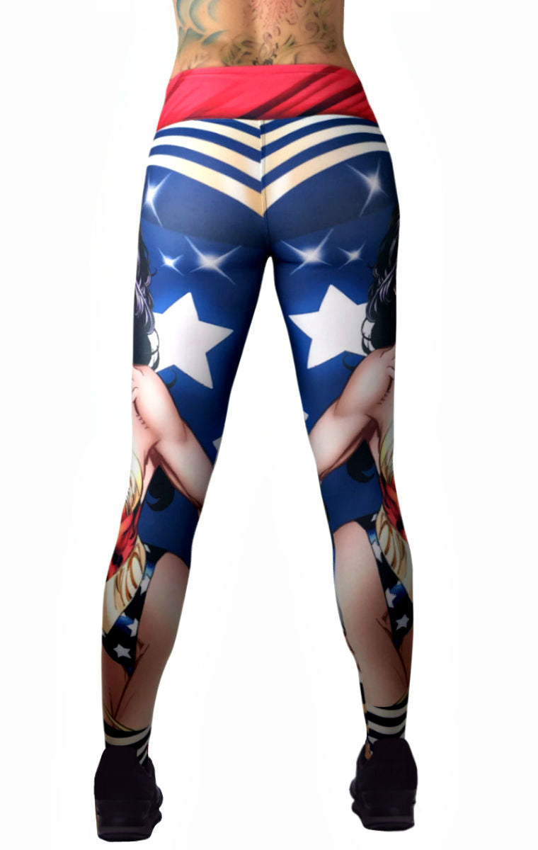 Exit 75 - Wonder Woman Leggings