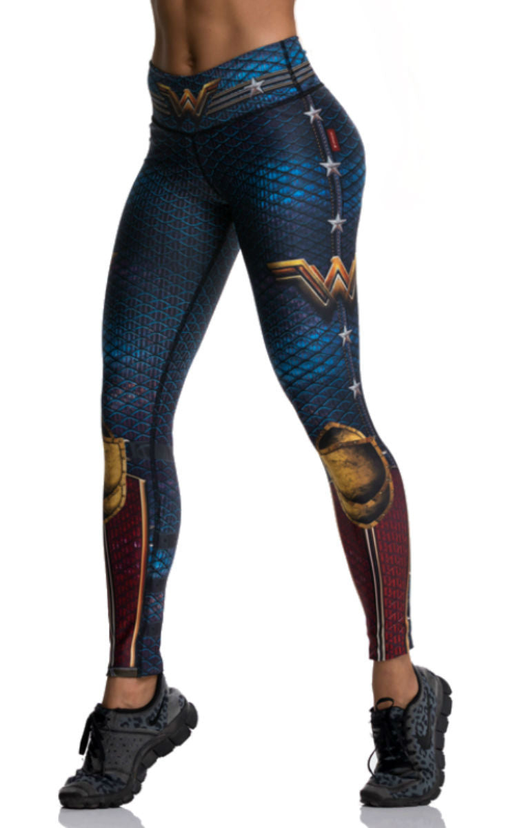 40900b09a2b9d Drakon - Wonder Woman Leggings – His and Hers Athletics