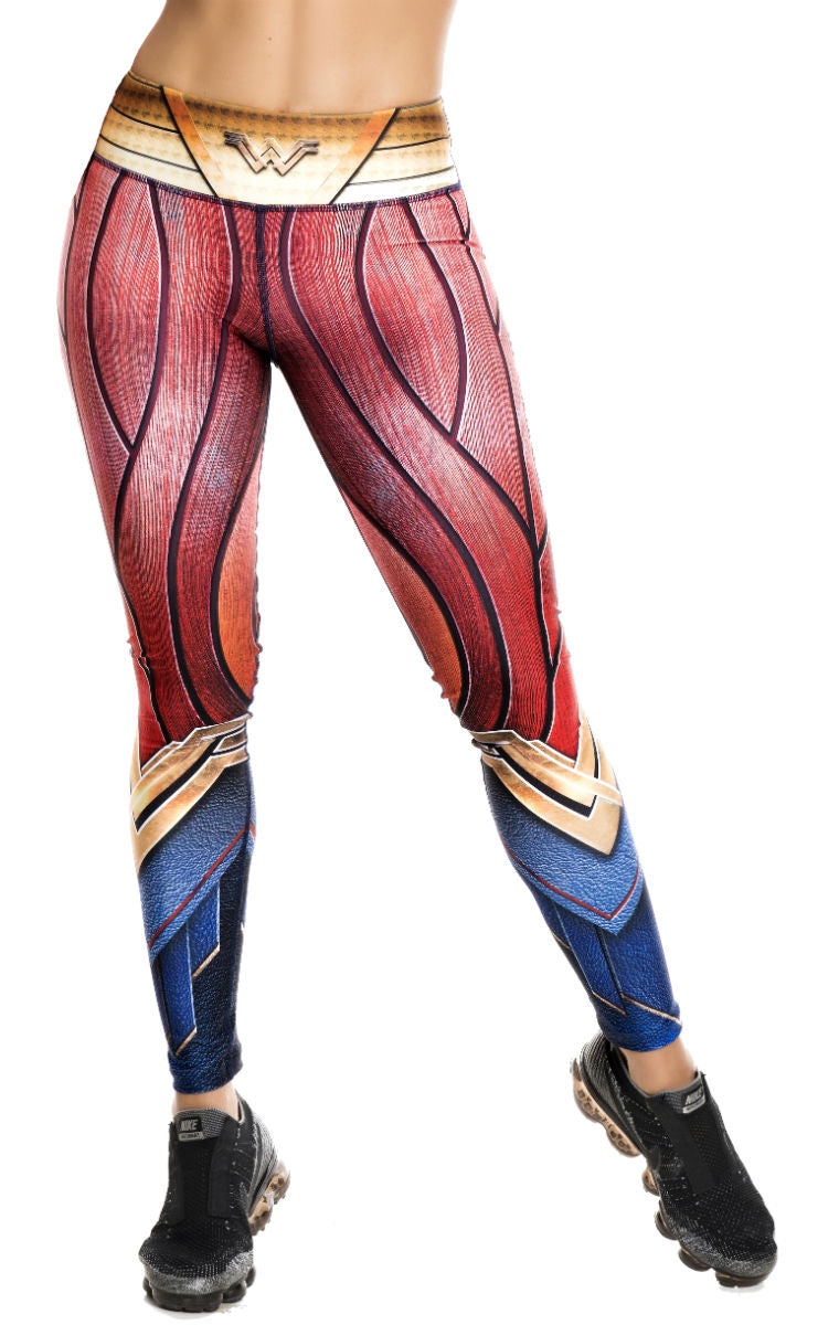 Fiber - Wonder Woman Leggings