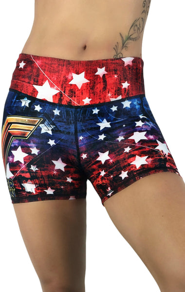 Exit 75 - Wonder Woman Shorts