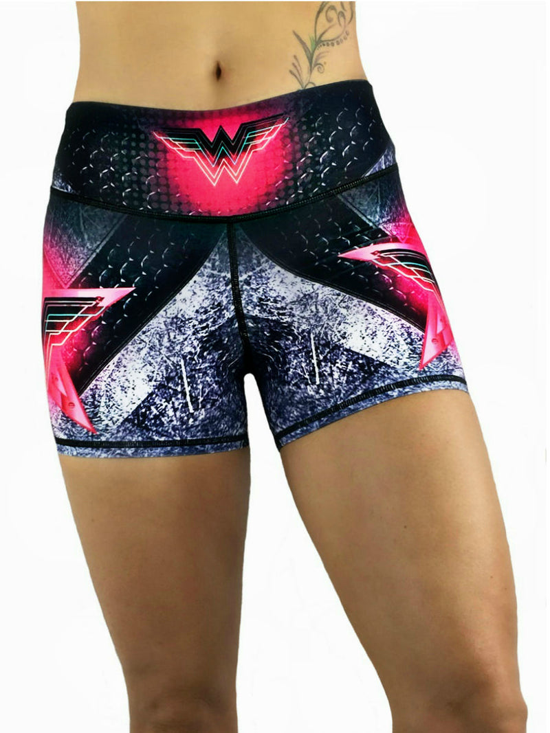 Exit 75 - Wonder Woman Pink Shorts
