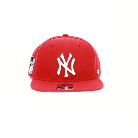 New York Yankees Snapback - Red