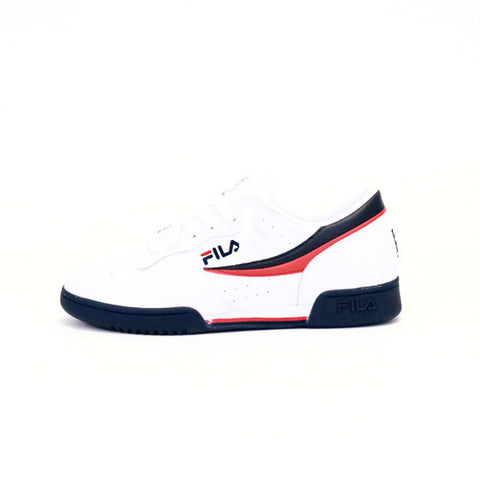 FILA Original Fitness - White/Navy