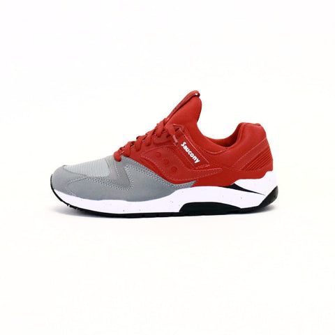 Saucony Grid 9000 - Gray/Red