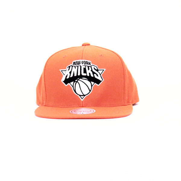 New York Knicks SnapBack Hat - Orange