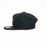 Miami Heat SnapBack Hat - Black