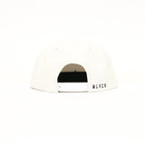 Black Scale Vintage B Logo New Era SnapBack - White