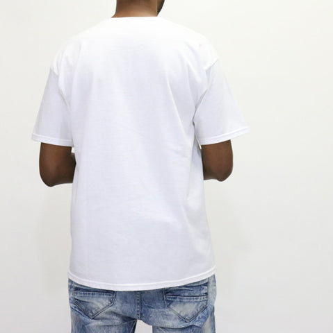 Black Scale Solicit T-Shirt - White