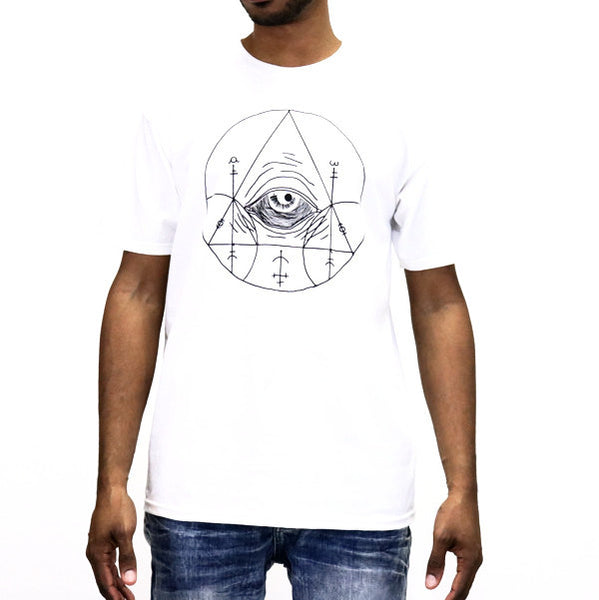 Black Scale Doom of Malentay T-Shirt - White