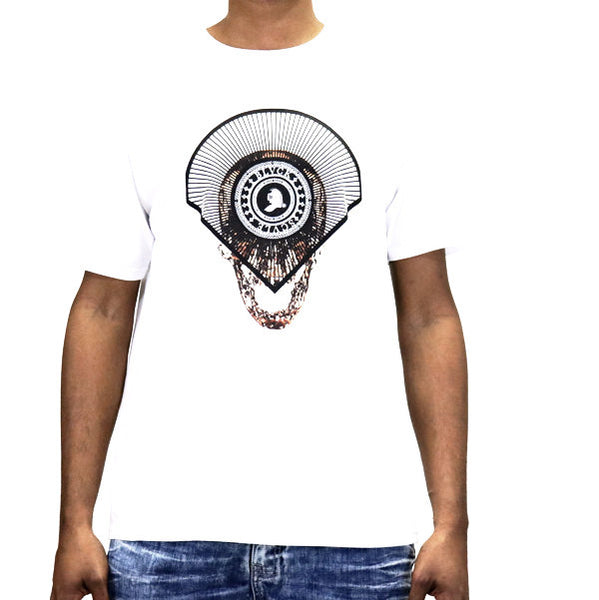 Black Scale Puresilver Visions T-Shirt - White