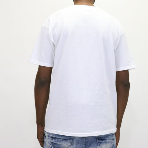 Black Scale Basic Logo T-Shirt - White