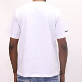 Play Cloths Wavelength S/S Tee - White