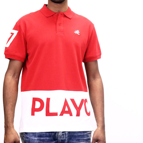 Play Cloths Spellout Polo Shirt - Formula One