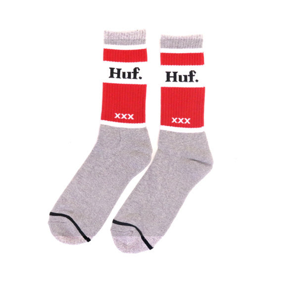 HUF Can Crew Sock - Grey Heather