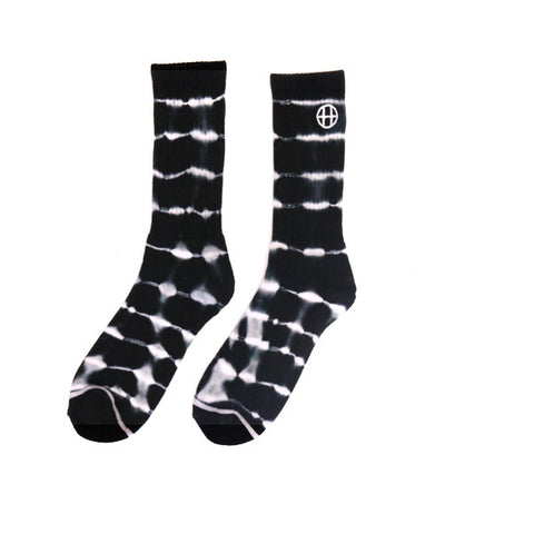 HUF Lighting Stripe Crew Sock - Black