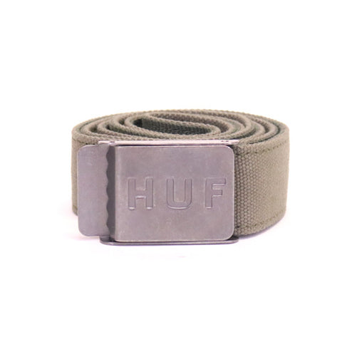 HUF Duck Canvas Scout Belt - Olive