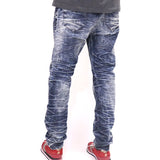 Jordan Craig 100 Year Wash Jeans - Destroyed Blue