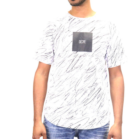 DOPE Concentric Square Logo Tee T-Shirt - White