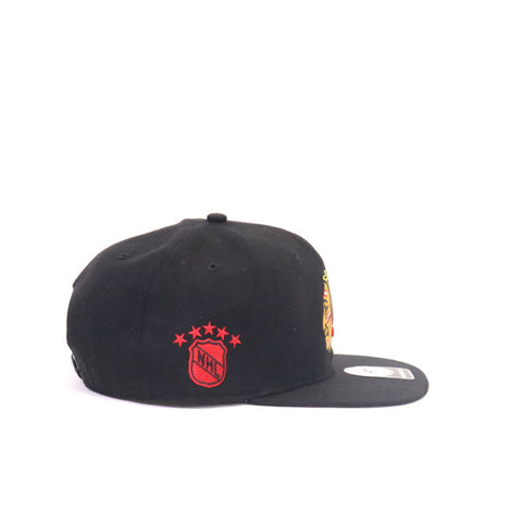 Chicago Blackhawks Snapback - Black