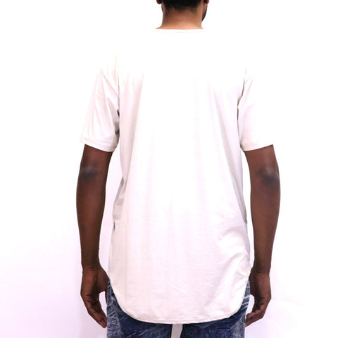 EPTM Suede OG Long Tee Shirt - Polar Bear Ivory