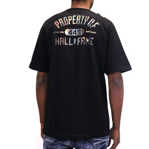Hall of Fame Knockout Sheed T-Shirt - Black