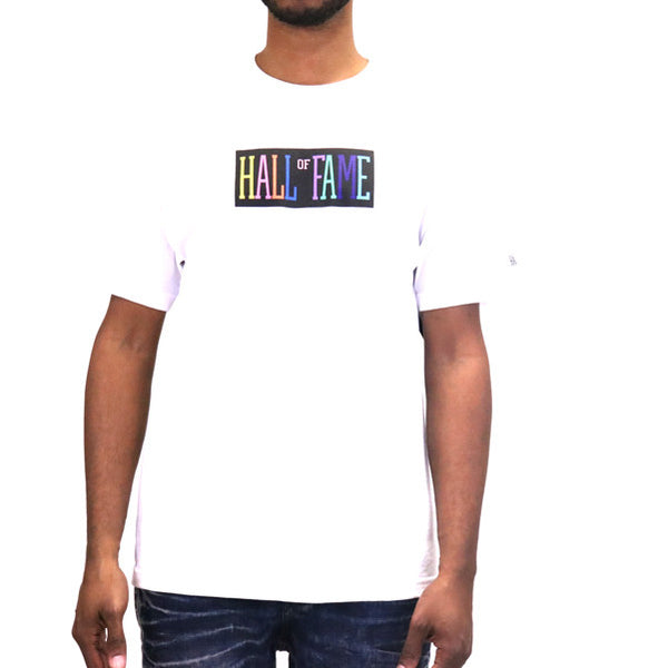Hall of Fame Logo T-Shirt - White