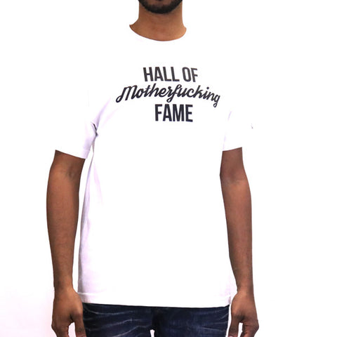 Hall of Fame Mother F T-Shirt - White