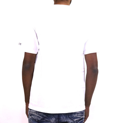 Hall of Fame Triple Stack T-Shirt - White