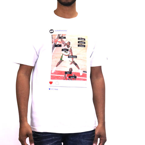 Hall of Fame Tag People T-Shirt - White