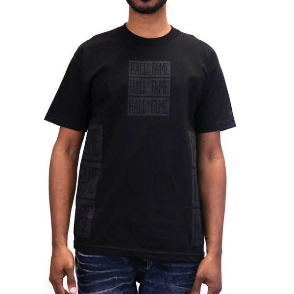 Hall of Fame Triple Stack T-Shirt - Black