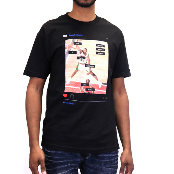 Hall of Fame Tag People T-Shirt - Black