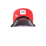 Houston Rockets Broad Street SnapBack Hat - Grey
