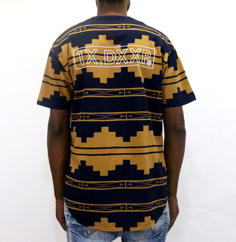 10 Deep Dotted Logo T-Shirt - Navy
