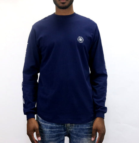 10 Deep Stateless L/S T-Shirt - Navy