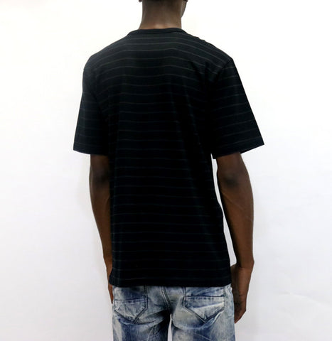 Undefeated Stripe Pocket S/SL T-Shirt - Black