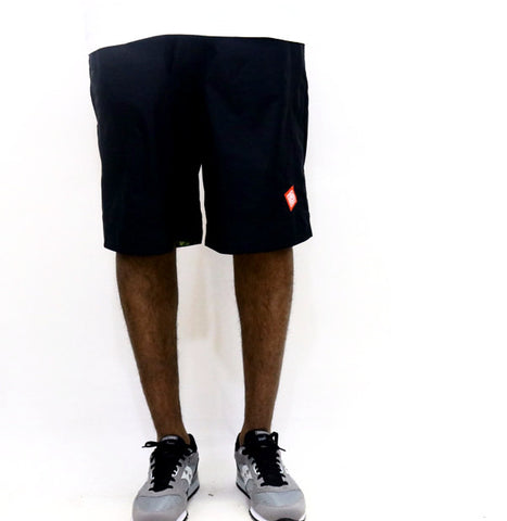 Staple Pigeon Map Shorts - Black